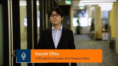 Video Thumb: Treasure Data CTO Kaz Ohta